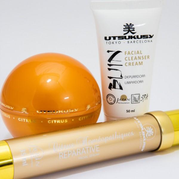 Citrus Homéopatiques Home Care Set von utsukusy Cosmetics auf www.beauty.camp