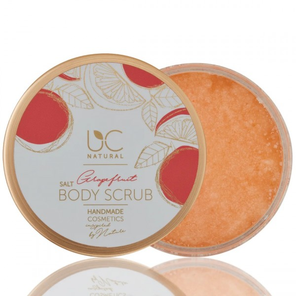 UC Natural Meersalz Body Scrub Grapefruit auf www.beauty.camp