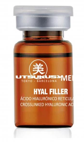 Hyal Filler - Microneedling Serum mit vernetzter Hyaluronsäure von Utsukusy Cosmetics auf www.beauty.camp