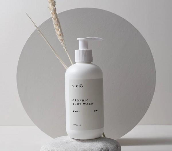 Organic Body Wash von vielö | pflegendes Bio-Duschgel auf www.beauty.camp