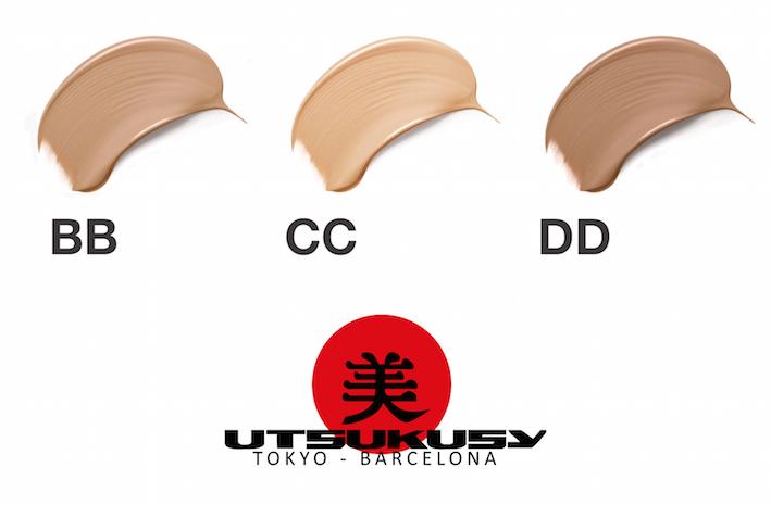 Farbton BB Cream, CC Cream und DD Cream von Utsukusy Cosmetics