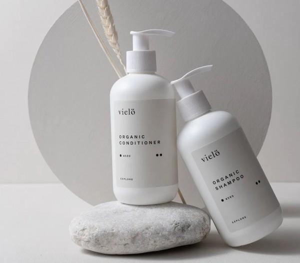 vielö - Organic Duo Hair | Organic Shampoo & Organic Conditioner auf www.beauty.camp