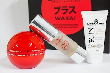 Wakai Homecare Set von Utsukusy Cosmetics auf www.beauty.camp